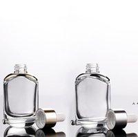 Temizle Omuz Kozmetik Uçucu Yağ Şişesi 30 ML 1 OZ Göz Özü Cam Damlalık Şişeleri BWF5943