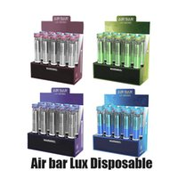 In Stock!!!Air Bar Lux Max New Package E Cigarette Disposable Device Russia Version 1000 puffs 500mAh 2.7ml Pre-filled Cartridges PK Air Bar Lux Max BANG XXL PUFF