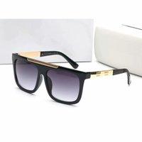 Мода Современные Стильные 9264 Мужчины Мужские Солнцезащитные очки Плоские Топ-сквер Солнцезащитные Очки Для Женщин Винтажные Солнцезащитные Окуты Oculos De Sol Нет коробки
