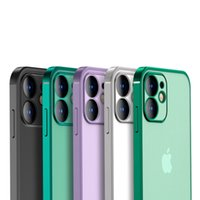 2021 Cases Suitable for iPhone 12 electroplating all-inclusive mobile phone shell Apple 11 pro max xr Silicone 6s xs protective cover