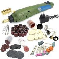 Trapano professionale Bits Mini Power Rotary Tool Electric + Accessori per rettifica per Dremel Engraving Machine Kit-EU Plug
