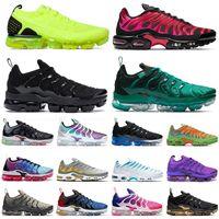 Nike Air max vapormax plus utility fly knit Hornets Zapatillas de deporte para hombre Zapatillas de mujer Grape Sliver Shark Zapatillas deportivas para mujer