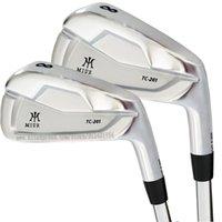 Conjunto completo de clubes Hoons M TC-201 Golf 4-9 P Derecho Derecho Hombre Club R O S Flex Steel Ebal Graffite Ejes