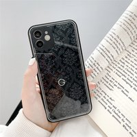 Designers Fashion Clear Phone Cases For IPhone 11 12 Pro Promax Mini 7 8 SE2 7 8plus XR X XS XSmax Glass Cell Case Phone Cases D2109155Z