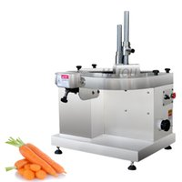 Electric Ham potato slicing machine mutton roll meat cutter carrot grinder automatic Fresh beef sliced maker