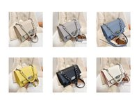 HBP messenger bag fashion women handbag new designer handbags high quality texture fashions shoulder bags thick chain Pleated