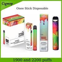 KANGVAPE ONEE Stick e Cigarettes 1900 Puff 6,2 ml et Alpha et Alpha PLUS Kit de stylo 2200 Puffs 8.5ml Dispositifs de pod jetables de 8,5 ml