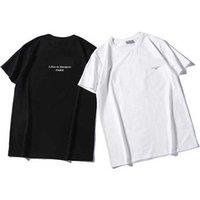 21SSSS Designer Spring and Summer Alemania Marca de moda para hombre Camiseta corta de ladrillo Cráneo de ladrillo de gran tamaño de manga delgada