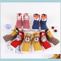 Toddler Baby Knitted Leopard Floor Socks Shoes With Rubber Soles Infant Anti-Slip Indoor Born Spring Summer Autumn Kids Mat 1Xh0D