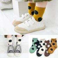 5-Pair Pack Boy Socks Cotton Socks Girl's Socks Autumn 1993 Z2