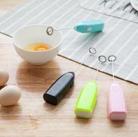 Mutfak Eşyaları Mini Elektrikli Kolu Karıştırıcı Yumurta Çırpıcı Çay Süt Froother Whock Mikser Mutfak DHL Için Hızlı ve Verimli Yumurta Blender