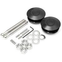 Andere Fahrzeugwerkzeuge Ersatzmotor Quick Release Auto Car Accessorisiert Universal Push Button Billet Hood Pins Metal Latch-Motorhaube