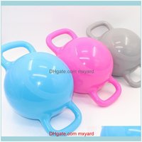 Fitness Supplies Sports & Outdoors40*21Cm Kettle Bell Yoga Gym Dumbbells Pilates Dumbbell With Base Crossfit Equipment Gimnasio Weights Ball