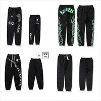 Calças de Mens High Street Pant para homens reflexivo Sweatpants Casuais Hip Hop Camo Streetwear Alta Qualidade Traga Tote Bag 0102