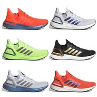 Mode Ultraboost Ultra 20 Sneakers Hommes Chaussures de course Femmes Dash gris Or Black Gold Solaire Rouge Tech Indigo Is ISS US National Lab Sports Sports Formateurs