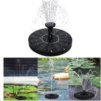 Fonte solar flutuante jardim fonte fonte lagoa decoração painel solar fonte de água bomba de água jardim decoração do gramado
