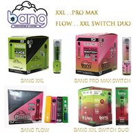 Bang Pro Max Switch XXL Duo 일회용 전자 담배 2 in 1 장치 8ml 포드 1100mAh 2000 2500 퍼프 vape 펜