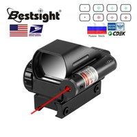 Reflex Sight avec laser rouge Dot vert Dot 4 réticule holographique holographique projetée score de vue Airgun Sites à la chasse