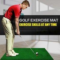 Обучение для гольфа СПИД практикует коврик качания удара вождения крытый зеленый XR-