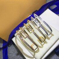 للجنسين سوار الأزياء حزام أساور البرسيم حجر مجوهرات للرجل امرأة قابل للتعديل 12 لون مع مربع