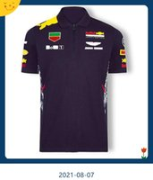 2021 F1 World Formula One Championship Outdoor Car Team Polo Jersey T-shirt a maniche corte asciutta