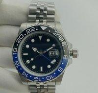Montre Luxe Mans montres automatiques Céramique en acier inoxydable 40mm super lumineux étanche imperméable relojes de lujo para hombre