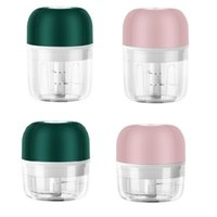 Mini Portable Household Blender Home Electronic Slicer USB Rechargeable Electric Herb Grinder Tobacco Crusher 100ml 250ml Dry Herbal Smasher Compatible