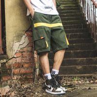 Men's Shorts Men Sweat Hip Hop Streetwear Summer Military Cotton Mens Bermuda M-XXXL 2021 Jogger Casual