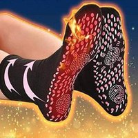 Sports Socks Outdoor Winter Magnetic Therapy Self-heating Athlete's Foot Cracked Feet Warmer Yoga Pilates Thermal