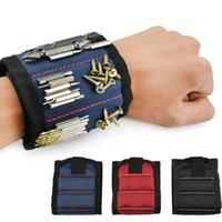 ツール磁気ブレスレット5色修理ツールバッグリストバンドベルト携帯用ツールバッグ2磁石FHL171-WLL