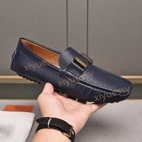 Menores de alta calidad zapatos de vestir de moda de cuero genuino fiesta de bodas para hombre negocio oxfords caballeros caminar casual guisantes zapato comodidad