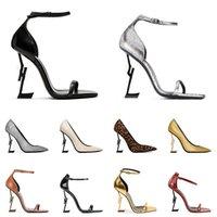 high heel red bottoms 2021 Llegada Zapatos de vestir Mujer Luxurys Diseñadores Bombas de cuero genuino Dama Peep-toes Sandalias Mocasines Moda de goma Eur 35-42
