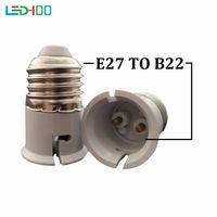 Converteer E27 naar B22 Adapter Materiaal Vuurvaste Materiaal Socket Adapter van E27 naar B22