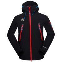 Мужчины Descente Softshell Куртка Лицо Пальто Мужчины на открытом воздухе Спортивные пальто Мужчины лыжные Пешие прогулки Ветрозащитный зимний пиджак Soft Shell