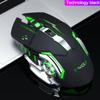 Mice Q13 Profession Wireless Gaming Mouse 6 Buttons 2400 Dpi Led Optical Usb Computer Silent For PC Laptop