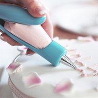 Strumenti di pasticceria ugello fai-da-te Acciaio inossidabile Dessert Cake Decorating Suggerimenti Accessori da cucina Accessori da cucina Cookie Bis Glassa Piping Cream EWD5606