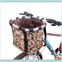 Car Truck Racks Aessories Cycling Sports & Outdoorsbicycle Basket High Quality Bicycle Aluminum Alloy Frame Detachable Cycle Bike Front Carr