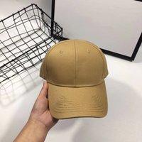 Brand Designer Bestickte Baseballkappe Trendbrief Street Dance Cap Driver Mode Sonnenhut