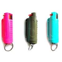 حار بيع 20ML أسلحة رش الدفاع الذاتي للنساء الفتيات حماية الهباء الجوي نوع الدفاع عن النفس المفاتيح