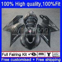 Injectiebacks voor Ducati 848R 1098R 1198R 848 1098 1198 S R Flat Black Bodywork 14NO.7 848S 1098S 07 08 09 10 11 12 1198S 2007 2008 2009 2010 2011 2012 OEM Body Kit