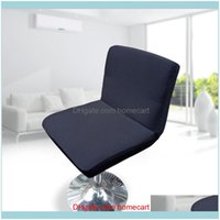 Ers Sashes Textiles Home & Gardenlow Back Spandex Elastic Dining Chair Er Housse Chaise De Bar Stretch Office Seat Case Drop Delivery 2021 O