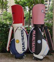 Bolsas de golf Fashion PG PU de alta calidad PU bolso impermeable carro de soporte equipo club fash