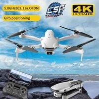 CEVENNESFE F10 Drone 4K PROFESIONAL GPS Drones avec caméra HD 4K Caméras Caméras RC Hélicoptère 5G WiFi FPV Drones quadricopter jouets 210915