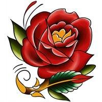 Varity Diseños únicos Flores Cuerpo desechable Matterfly Impermeable Tatuaje temporal Etiquetas de Tatuaje OneTime Tatuajes M-B