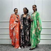 Abbigliamento etnico Musulmano Abaya Kimono Hijab Dress Arabo Dubai Dubai Abiti africani per le donne Pakistan Caftano Marocain Kaftan Qatar Islamic