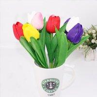 أقلام حبر جاف tulip شكل القلم الإبداعية بو محاكاة النباتات الزهور طالب القرطاسية البنود مكتب اللوازم المدرسية لطيف