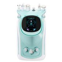 Profesyonel 6 in 1 Hidrojen Oksijen Küçük Kabarcık Güzellik Cihazı HD Algılama Cilt Analyzer Yüz Temizleme Makinesi Vücut Spa
