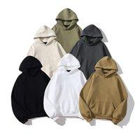 A20210630-32021 Erkek Hoodies Tişörtü Erkek ve Kadın Kapüşonlu Uzun Kollu Pamuk Çift Rahat Boy Kazak Hip-Hop Jumper -7