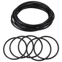 80mm Harici Dia 4 Kalın Filtre Kauçuk O-Ring Mühür Siyah 10 75 x 70 2.5mm Saklama Kutuları Bineler