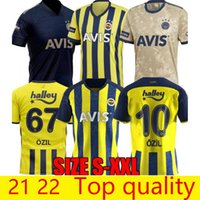 مراوح الجودة التايلاندية 2021- 22 الصفحة الرئيسية Fenerbahce Soccer Jerseys 2021 2022 Camisetas de Fútbol Mesut Özil Ozan Tufan Perotti Samatta Camiseta كرة القدم قمصان موحدة